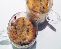 Recette mug cake aux 2 chocolats