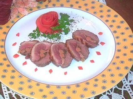 Recette de magret au foie gras et morilles