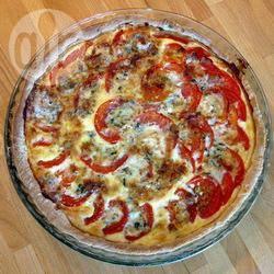 Recette quiche tomate mozzarella basilic – toutes les recettes ...
