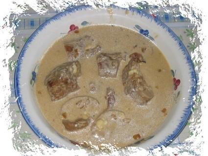 Recette de filet mignon de porc au maroilles