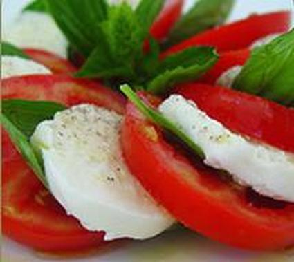 Recette de tomates mozzarella