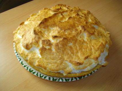 Recette de tarte au citron meringué