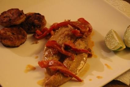 Recette de filet de pangasius au curry rouge et citron vert