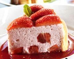 Recette charlotte aux fraises poivrées