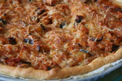 Recette de tarte d'aubergine au thon