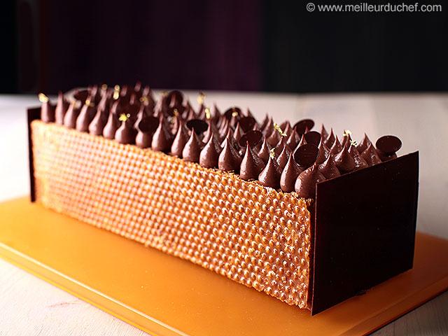 Mille-feuilles au chocolat  notre recette avec photos ...