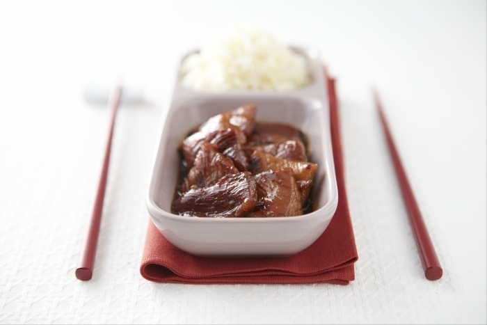 Recette de porc au caramel chinois facile et rapide