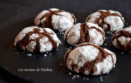 Recette de craquelins au chocolat noir