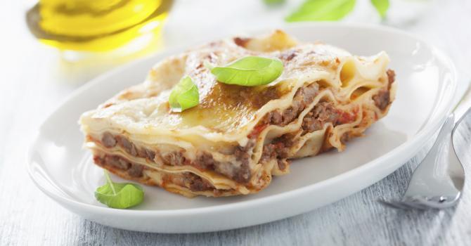 Recette de lasagnes à la bolognaise et mascarpone