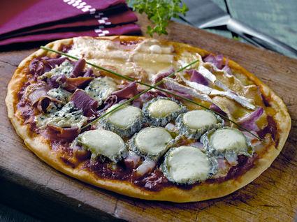Recette de pizza du maître affineur
