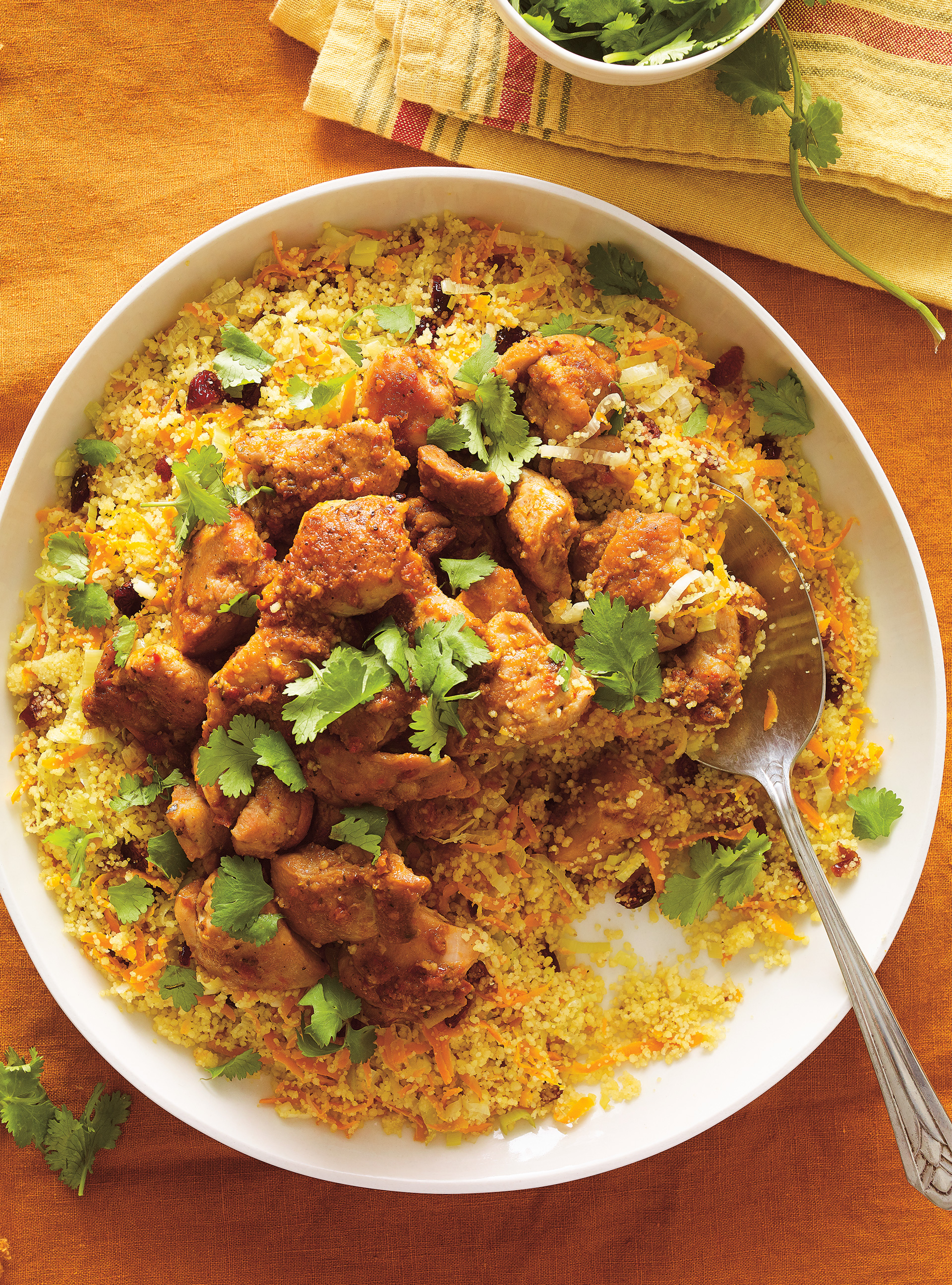 Couscous express au poulet | ricardo