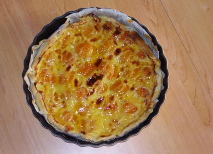 Recette de tarte à l'abricot et fleur d'oranger