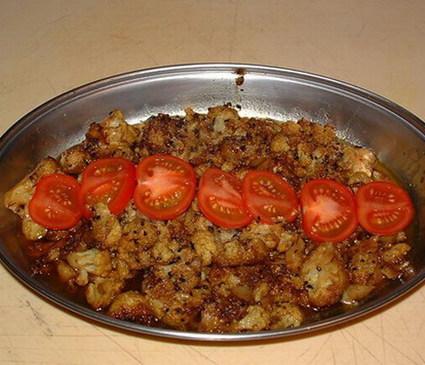 Recette de chou-fleur au curry