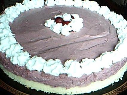 Recette de gâteau mûres, amandes et vanille allégé
