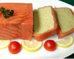 Recette terrine d'avocat au saumon fumé