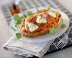 Recette bruschetta à la tomate, au jambon de parme et à la ...