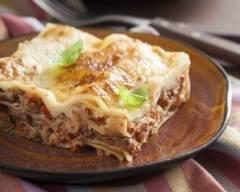 Recette lasagnes à la bolognaise facile