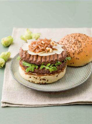 Recette de burger le gourmand