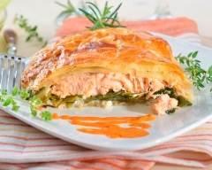 Recette feuilleté de saumon