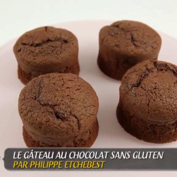 Recette gâteau au chocolat sans gluten