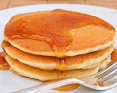 Recette pancakes au sirop d'érable