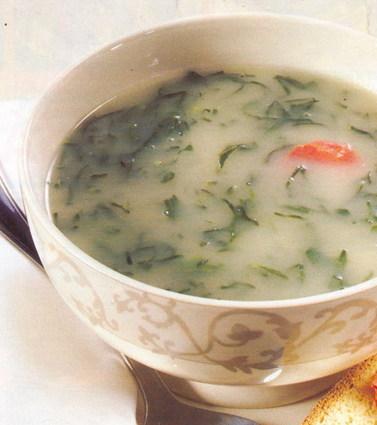 Recette de caldo verde (soupe aux choux)