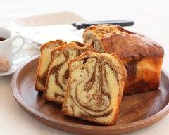 Recette cake marbré à la pâte de spéculoos