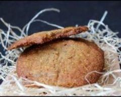 Recette cookies pralin praliné noisettes