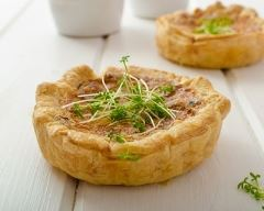 Recette mini quiche sans pâte au thon