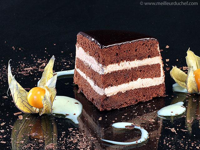 Gâteau au chocolat  fiche recette avec photos  meilleurduchef.com