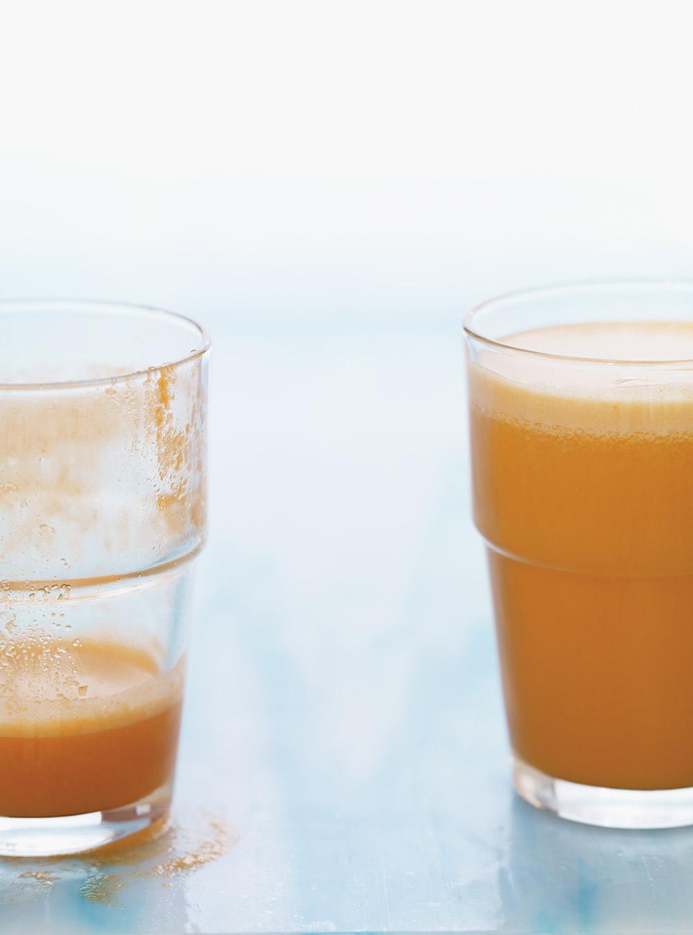 Jus tonifiant à l'ananas, aux carottes et aux pommes | ricardo