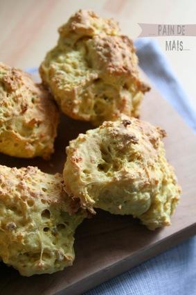 Recette pain de maïs (pain boulanger)