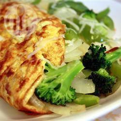 Recette délicieuse omelette végétarienne – toutes les recettes ...