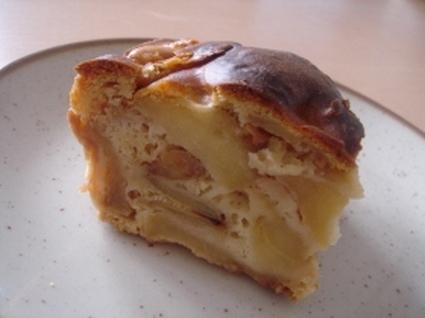 Cake épicé aux pommes caramélisées