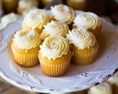 Recette cupcakes au chocolat blanc et vanille