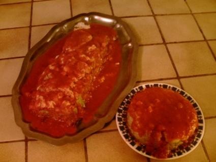 Recette de gâteau de caviar d'aubergine
