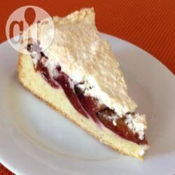Recette tarte aux quetsches nappée de meringue coco – toutes les ...