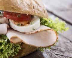 Recette burger blanc de poulet minceur