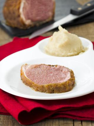 Recette agneau en croûte de pain d'épices