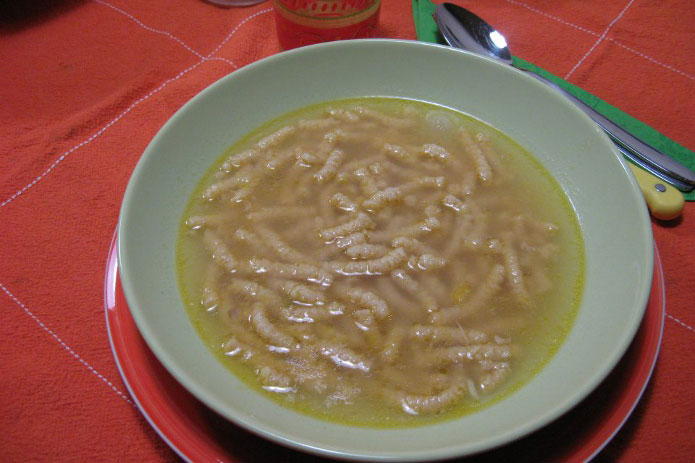 Recette italienne soupe de passatelli
