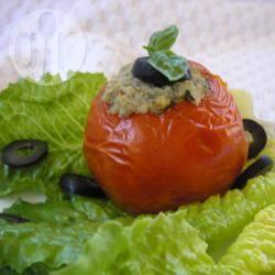 Recette tomates farcies au thon et aux olives – toutes les recettes ...