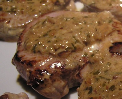 Recette de médaillons de veau, sauce aux échalotes