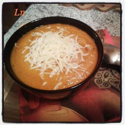 Recette de velouté de carottes et panais au cabillaud, zeste d ...