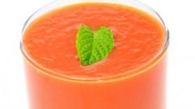 Soupe froide aux poivrons rouges pour 4 personnes