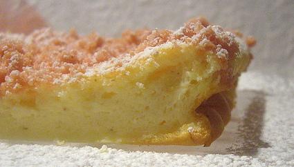 Recette de gâteau à la ricotta et biscuits roses