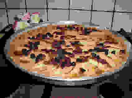 Recette de tarte aux pommes et raisins secs