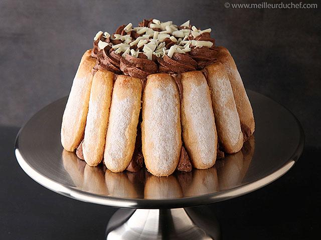 C'est chocolat, c'est charlotte !!  meilleurduchef.com