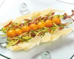 Recette salade de jambon san daniele et grana padano aux ...
