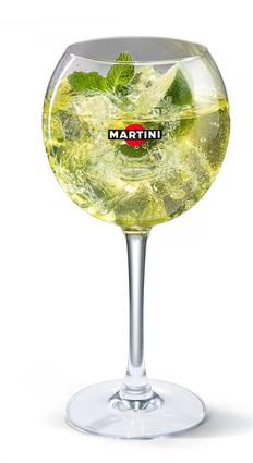 Recette de cocktail martini® royale bianco ou rosato
