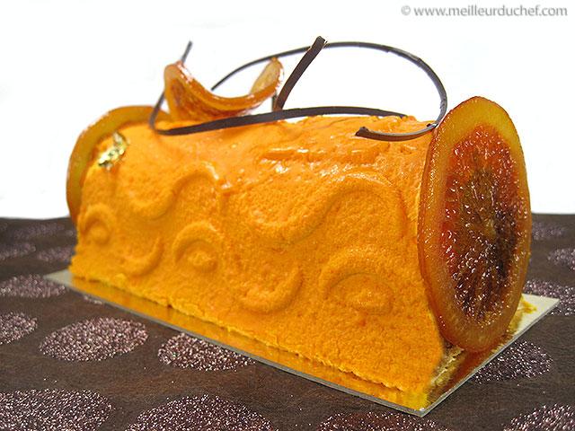 Délice de noël à l'orange  la recette avec photos  meilleurduchef ...